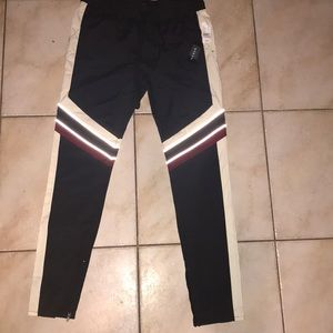 ❤️ NWT PacSun Windbreaker Tri Color Joggers ❤️